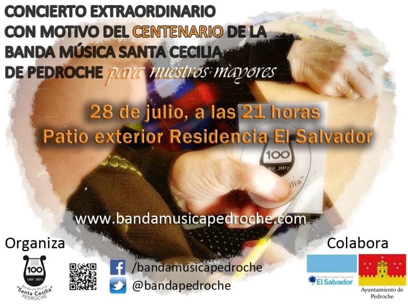 Cartel Concierto Residencia El Salvador