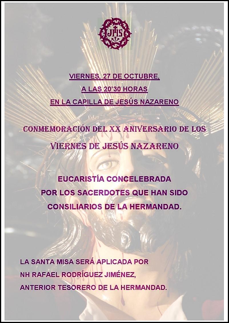 CARTEL VIERNES DE JESÚS OCTUBRE 2017 1
